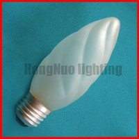 Decorative candle whorl bulb