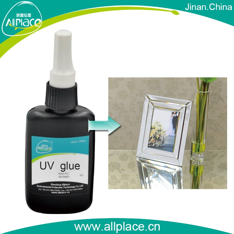 Economic manufacturer uv adhesive for glass to book cover making