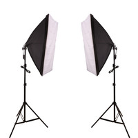 Continuous Lighting Kit Softbox Photo Studio Set 135W Photography 50 x 70 cm
