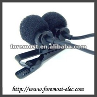 Dual Electret Omnidirectional Condenser Microphone