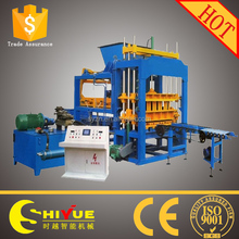 QT5-15 concrete brock machine/cement block molding machine/hot sale brick machine