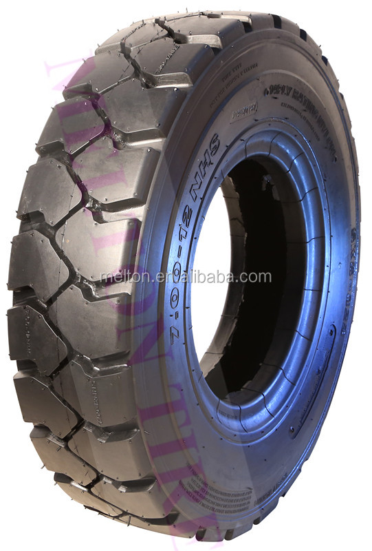 industrial tire 7.00-15 forklift tire +tube+flap supper side wall