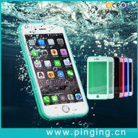 Hybrid Rubber TPU Shockproof & Waterproof Cover Phone Case For iPhone 6 Plus
