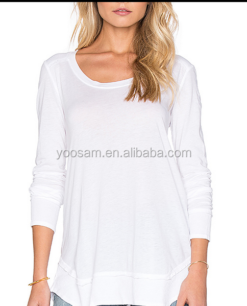 Plain White T Shirts Wholesale Blank Maternity T Shirts