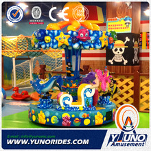 indoor family fun center coin operated kiddie rides