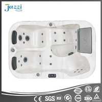 JAZZI Mini Massage Combo Surfing Spa Tub/ Outdoor Hot Tub SKT335A