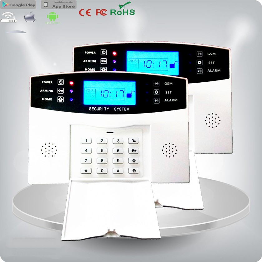 GSM Alarm System/Host with Voice Prompt, Can Install SIM Card for IR Sensor Active Infrared Detector