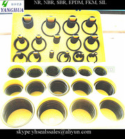 Factory rubber circle oil seal , NBR SBR EPDM FKM silicone o-rings for faucets, fitting, auto parts
