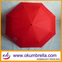Promotional large folding umbrella golf