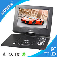 manufacture wholesale OEM nice quality USB TV GAME SD FM video Price Attractive Portable DVD Player Cheap Price Full Function
