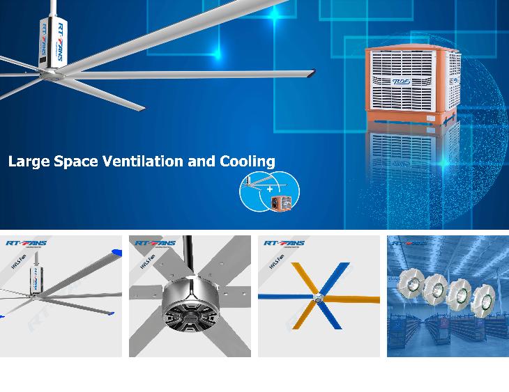 industrial heat fan