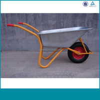 free sample hot selling light weight wheel barrow hand tools 6404h