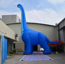 Full printing giant inflatable brontosaurus, inflatable dinosaur for advertising