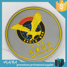 3D custom rubber coasters cheap beer coasters rubber table mat
