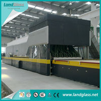 LandGlass Glass Tempering Machine For Making Auto Glass