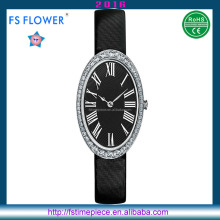 FS FLOWER - Elegance Luxury Watch Laides Diamond Set Watch