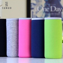 Fashion Design Neoprene Can Holder Water Bottle Cooler Sleeve