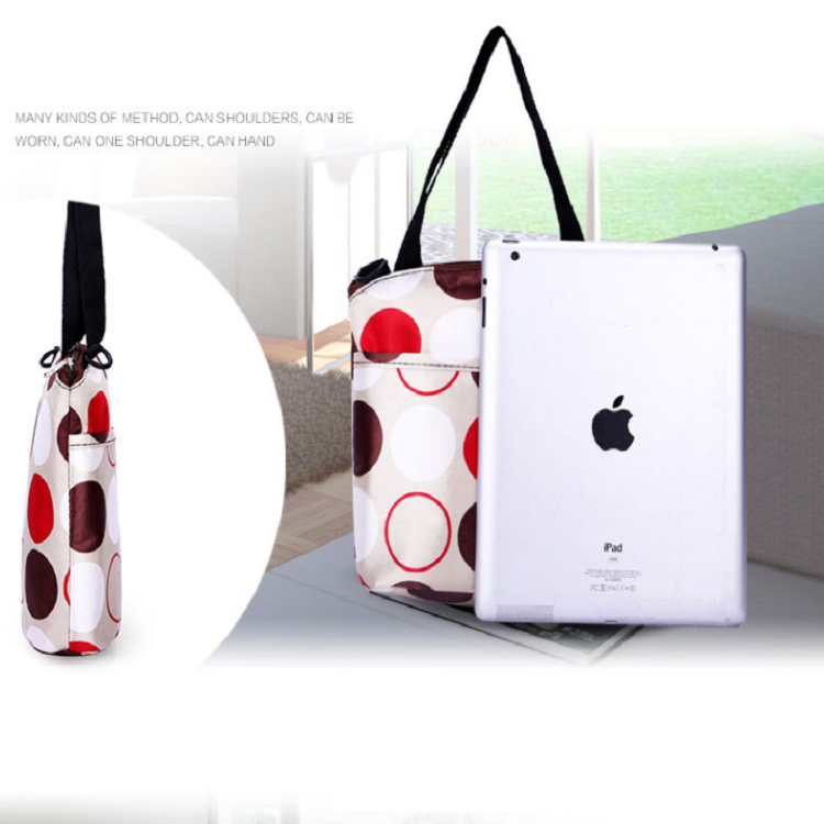 Hot saling custom multipurpose handbag insulated bottle breast milk storage lunch bag