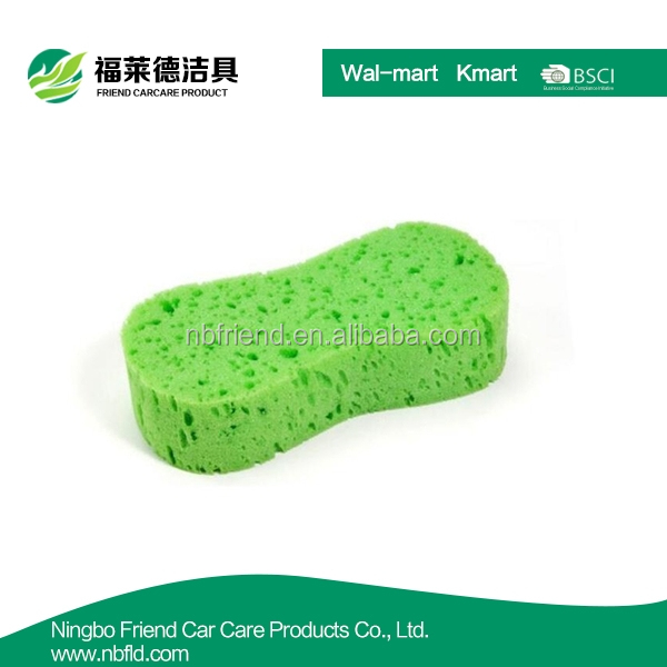 Assorted Color Car Wash Sponge Set Bone Design Cleaning Polishing Foam