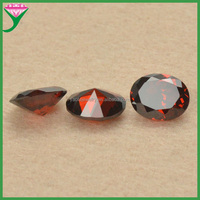 garnet supplier garnet color cubic zirconia egg shape names of semi precious stones for jewelry making