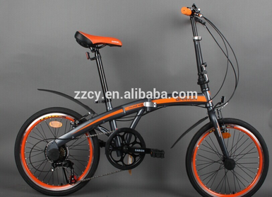 "20"" russia aluminum/steel folding bike for adult sports bicycle from factory"