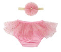 2017 baby cotton bloomer with ruffles boutique clothing girls tutu bloomer with hair bow