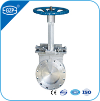 ASTM A351 Stainless Steel 304 304L 316 316L CF3 CF3M CF8 CF8M Materials Flange Type Knife Gate Valve