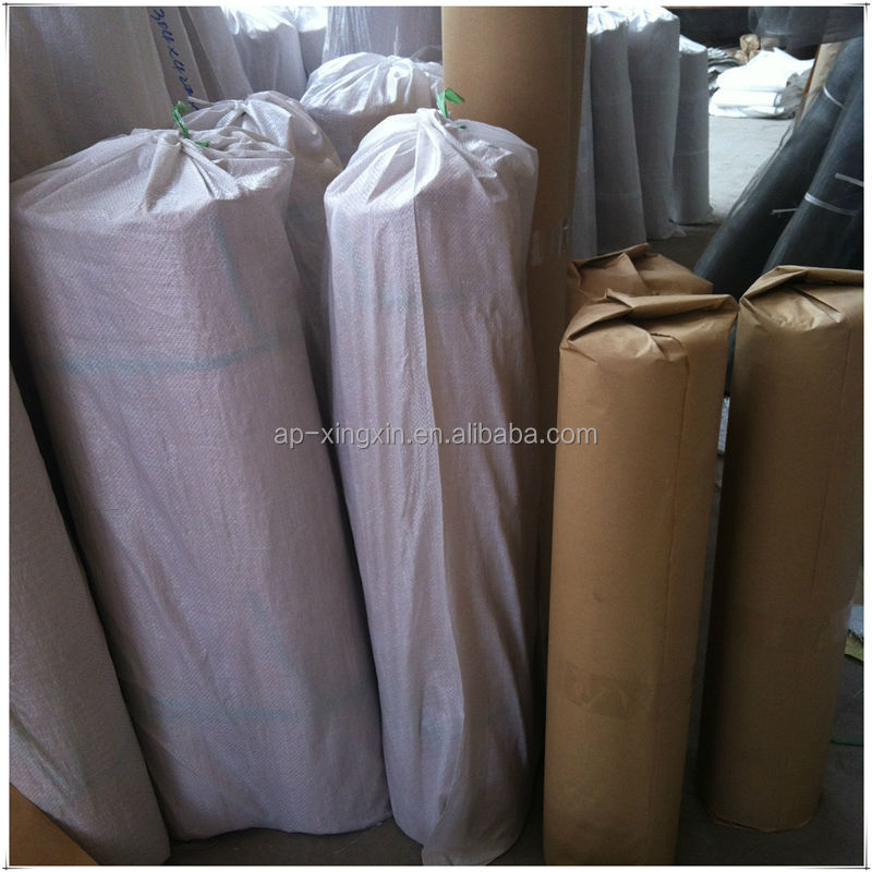 Professional manufactory black color window screen, PVC/ epoxy/ PET coated wire netting screen, metal window screen (K - 003)