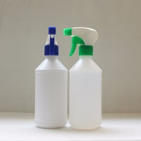 new arrival professional produce 500ml high quality PE hand button spray bottle