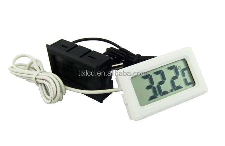 Fish tank lcd digital thermometer/ small digital thermometer/ aquarium thermometer