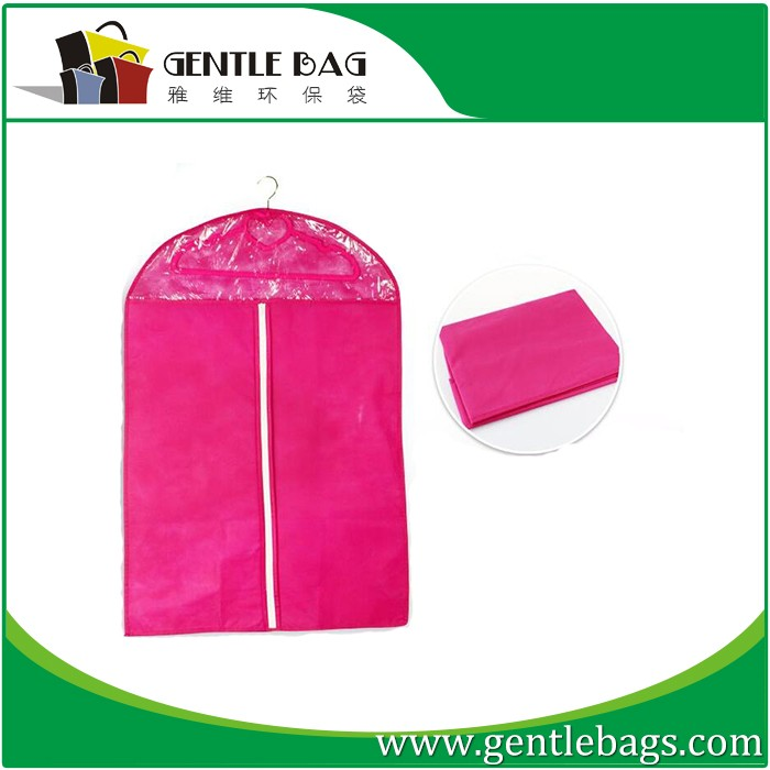Suit Dust Cover Storage Case Dress Garment Carrier Bag