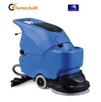 GM50B battery powered popular hand push mini wet floor cleaning equipment