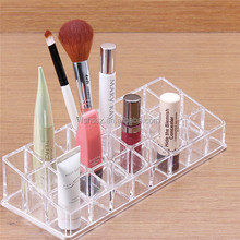 Fastion single layer transparent acrylic lipstick holder