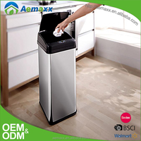 Touchless automatic sensor trash can for home and kitchen 38L/48L/58L