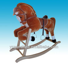 kids plush large size rocking horse for kids over 5 years old