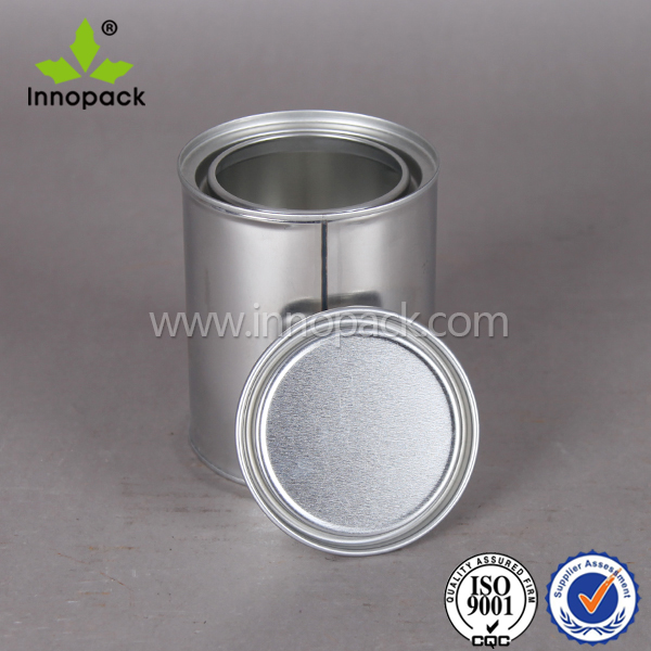 100ml plug lid tin can custom paint container for wholesale