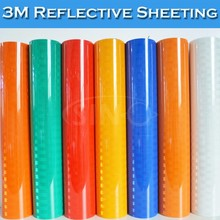 Self Adhesive 3M Super High Intensity Grade Reflective Sheeting
