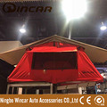Red Car Roof Tent Top for Camping and Travelling