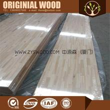 rubber solid wood finger joint lamination board