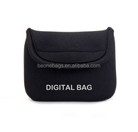 Multi-purpose Black Neoprene Travel Digital Bag Camara Pouch