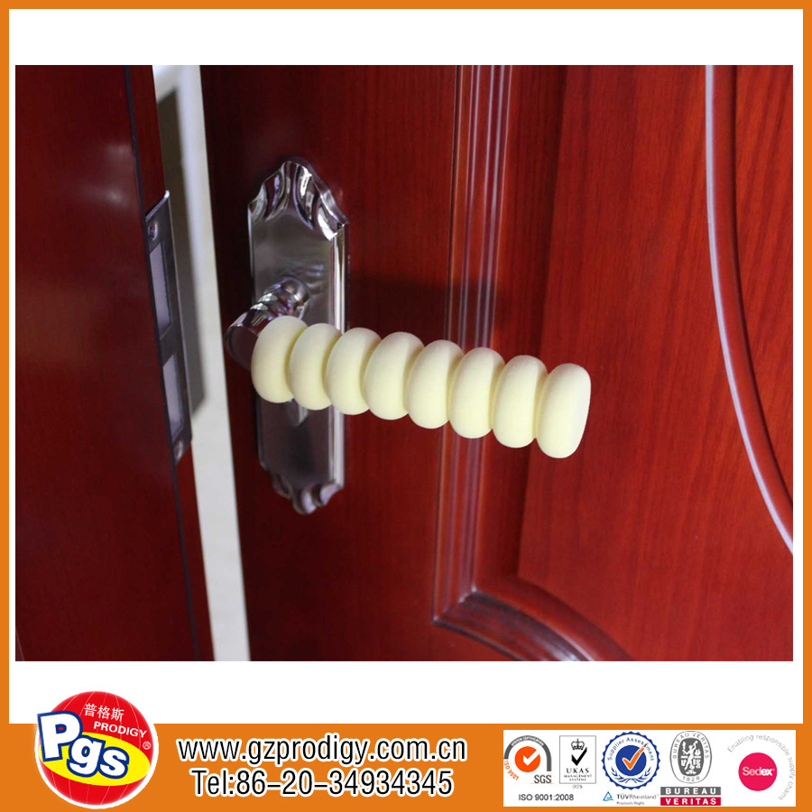 Baby proofing safety kit soft door knob covers/decorative rubber door knob covers