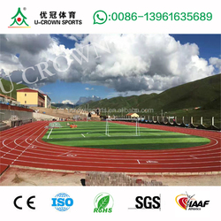 spray coating 6wd race track for athletic running track surface