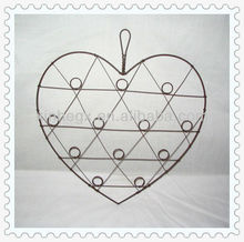 hanging display decorative craft wire heart shape