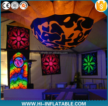 2015 Hot Sale!wedding ceiling decoration inflatable flower for event party club decoration
