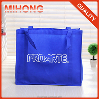 extra large cheap blue grocery non woven shopping bag