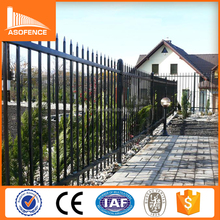Decorative low price wrought Iron fence, metal fence & steel fence