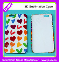 JESOY Mobile Sublimation Cover Case, 3D Sublimation Custom Cover For iPhone 6s 6s plus
