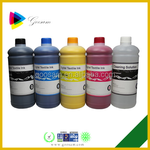 High quality vivid color Textile ink for Epson 7880 DX5 head