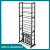 new design delicate hanging rug display metal rack