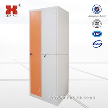 High Quality Military school Used Two Door Cabinet /metal steel Storage Locker for sale